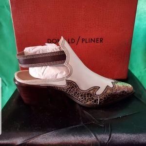 Donald Pliner Slingback Bootie / Shoe NEW